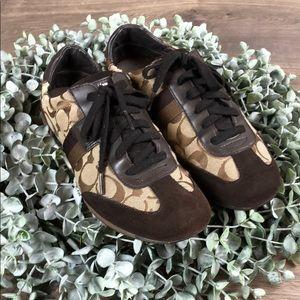 Coach Joss Brown Sneakers (Size 8.5)
